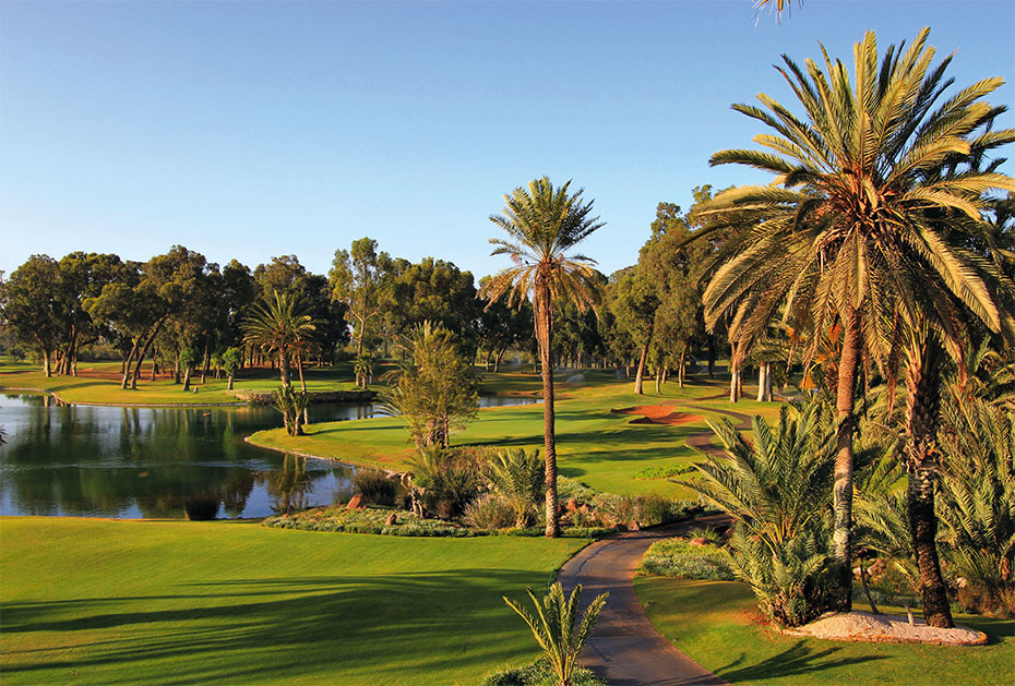 Marokko: Palm Golf in Marrakech