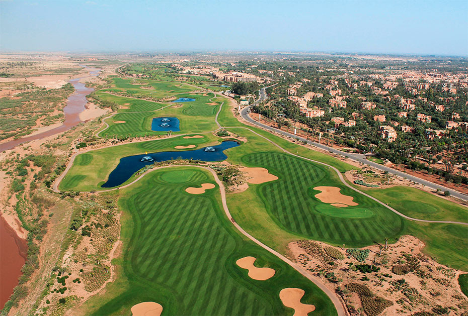 Golf in Marokko: Royal Palm, Marrakech