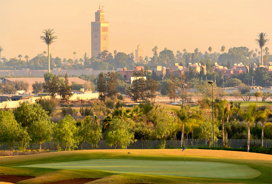 Marokko: Golf Club Palmeraie, Marrakech