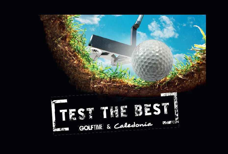 Caledonia Putter und GOLF TIME-Leser Aktion