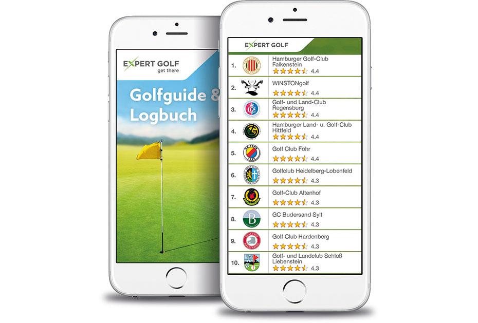 Expert Golf: Golfguide & Logbuch App