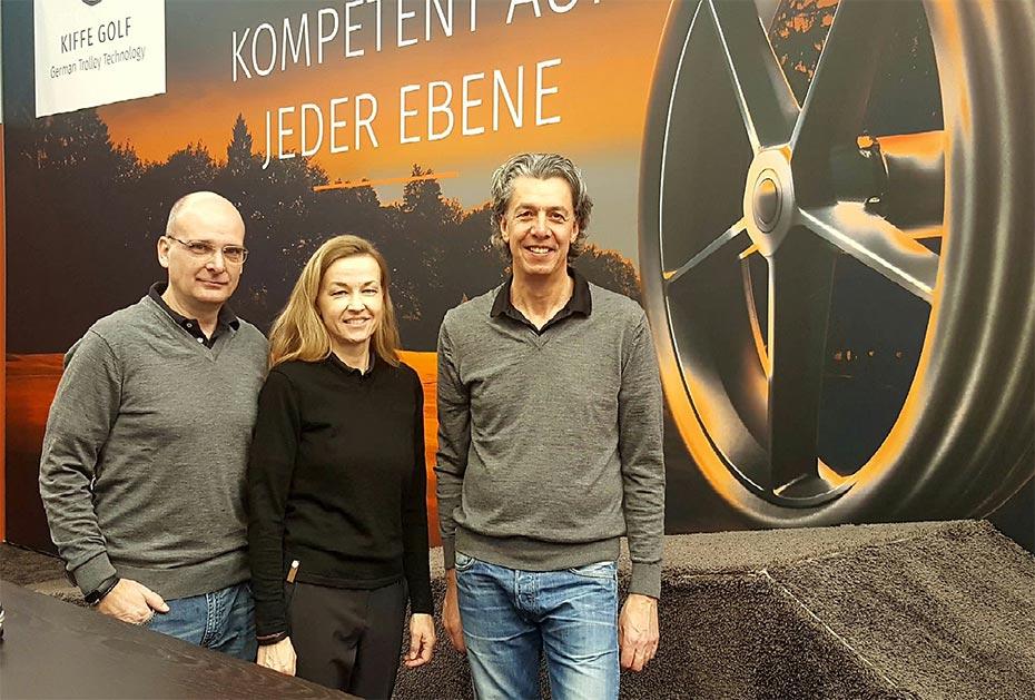 Die KIFFE-Geschäftsführung, v.l.: Thimo und Kristin Berberich, Thorsten Kück