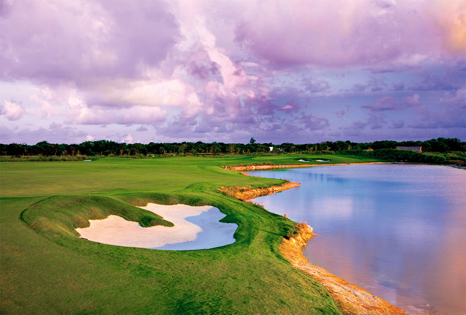 18 Löcher, Par 72, 7.253 Yards: Der Hard Rock Golf Club Punta Cana