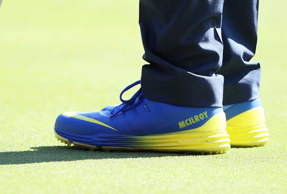 Rory McIlroys Schuhe