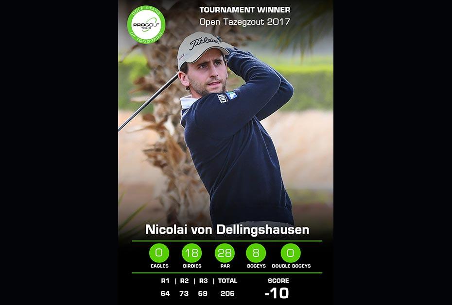 Sieger der Open Tazegzout 2017: Nicolai von Dellingshausen