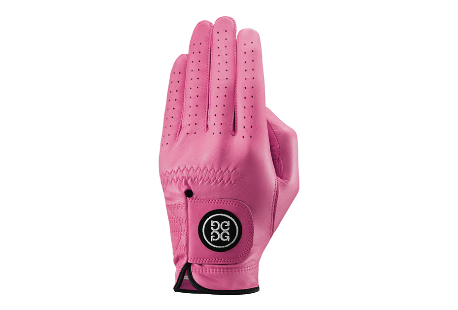 G/FORE Handschuhe gibt es in vielen Farben. Unter anderem in Pink
