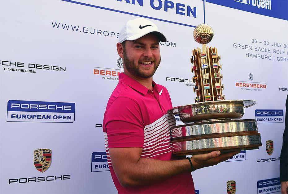 Erster Titel auf der European Tour: Jordan Smith