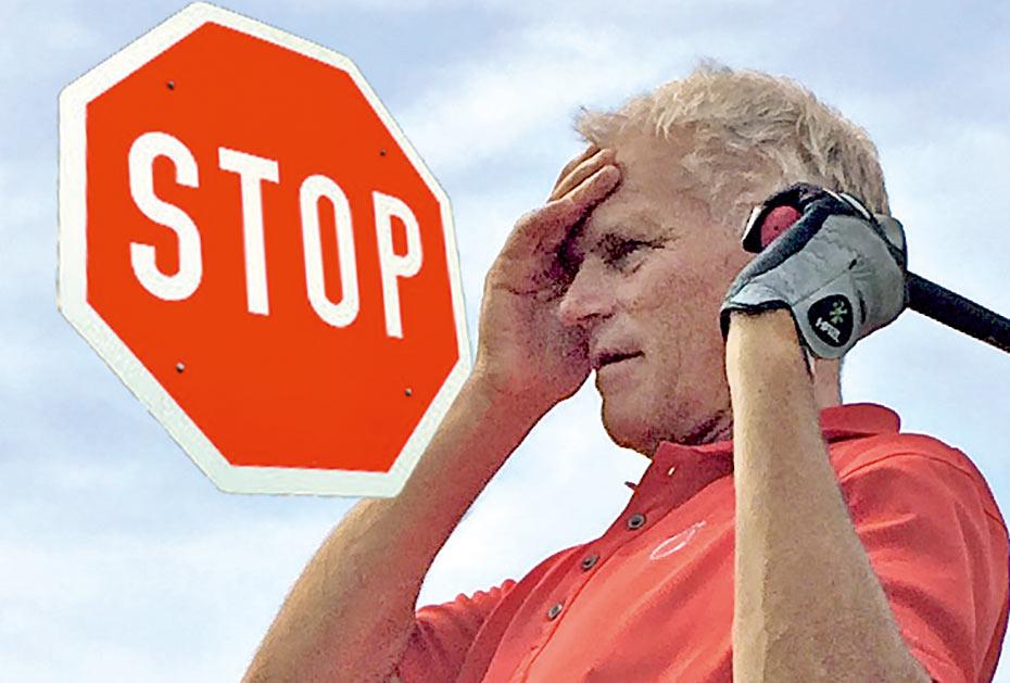 Wie Sie das Selbstsabotage-Programm am besten überlisten: Mit Stopp-Tafel und ...