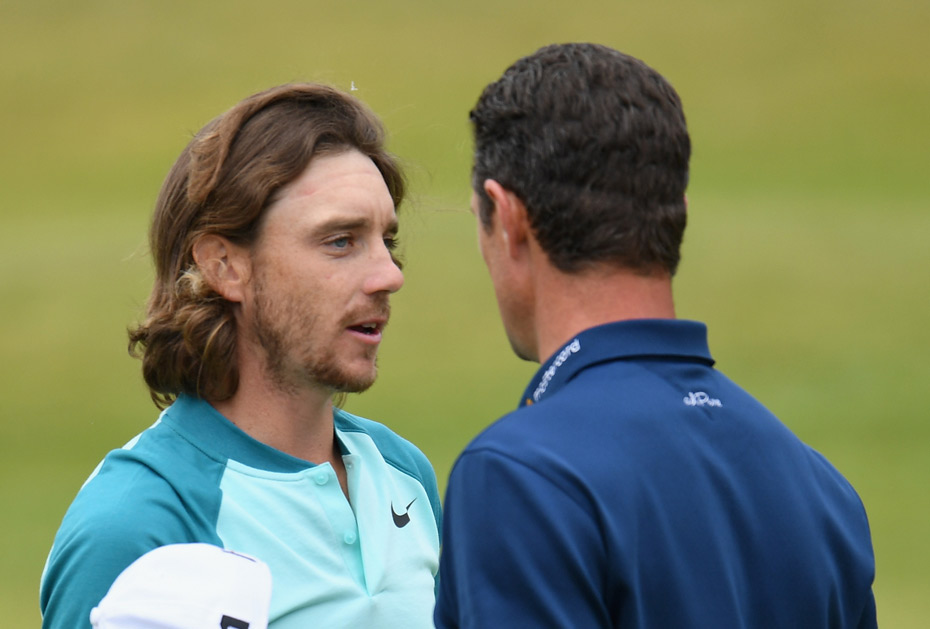 Tommy Fleetwood und Justin Rose