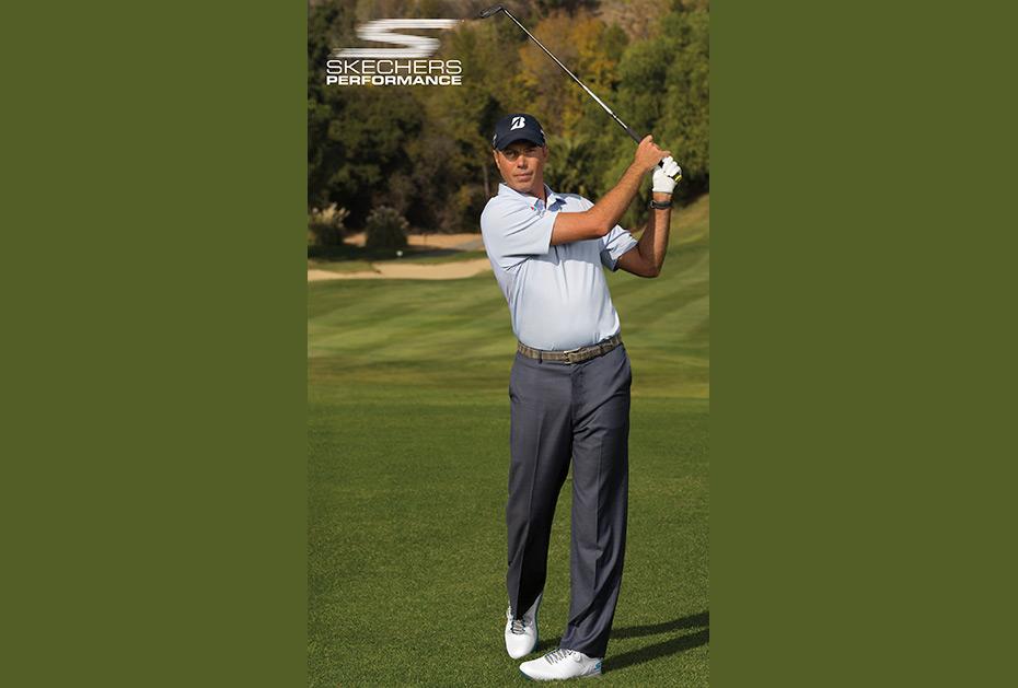 Matt Kuchar mit den Skechers Go Golf Pro V.3 (Foto: Skechers)