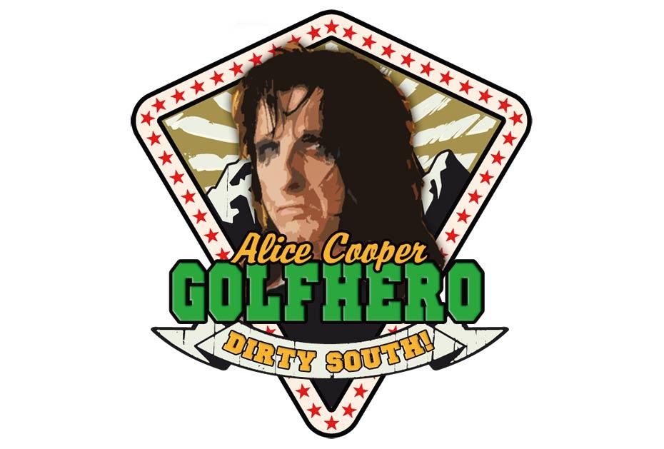 Golf Heroes-Ehrenmitglieder: Alice Cooper, ...