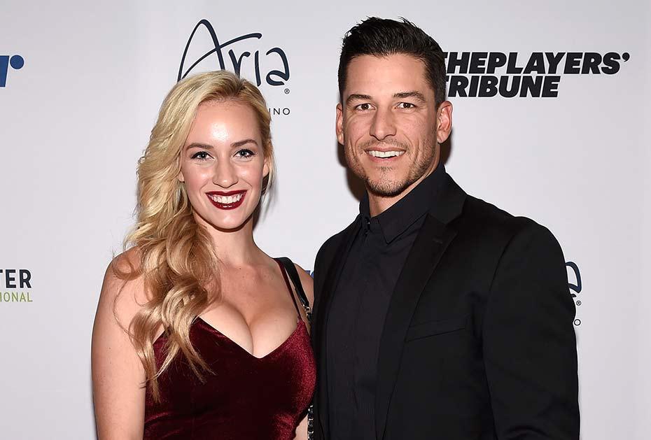 Paige Spiranac mit ihrem langjährigen Freund Steven Tinoco