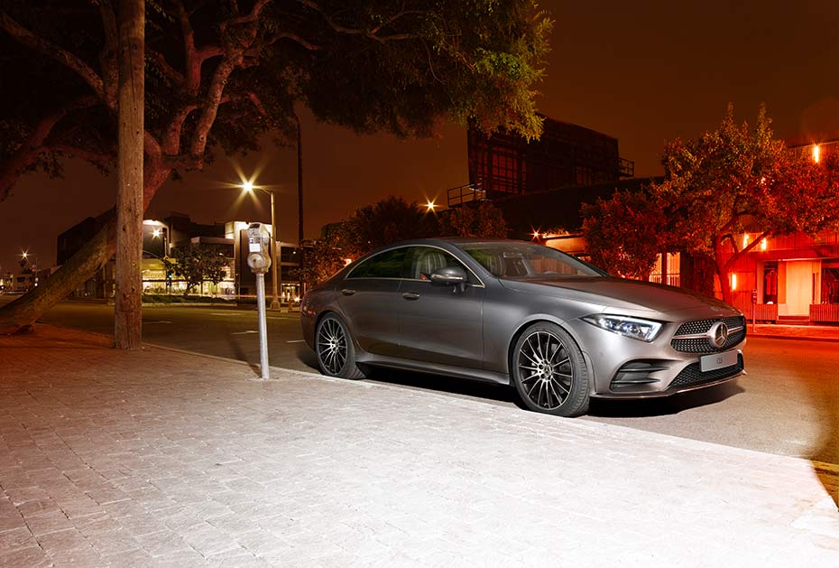 Jahreshauptpreis: Mercedes-Benz CLS Coupé im Wert von 100.000 Euro
