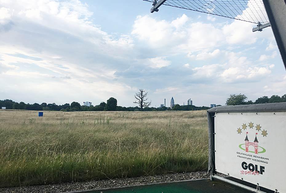 DFB-Fußball-Akademie: So sieht heute die Golfanlage Rennbahn Frankfurt-Niederrad aus