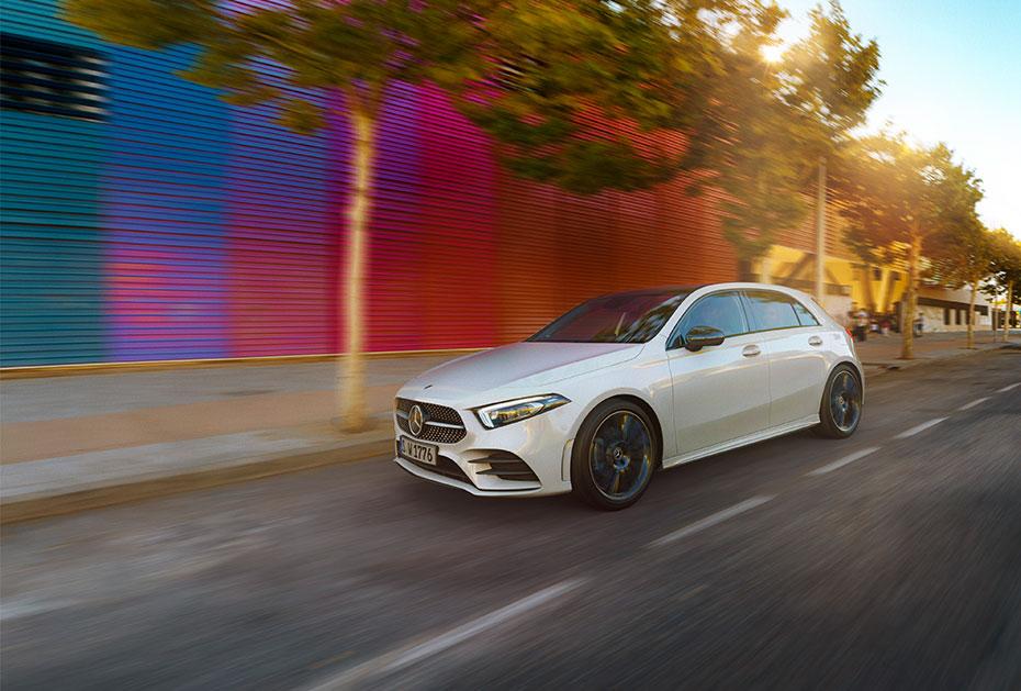 Anreise mit Stil: Mercedes-Benz A-Klasse