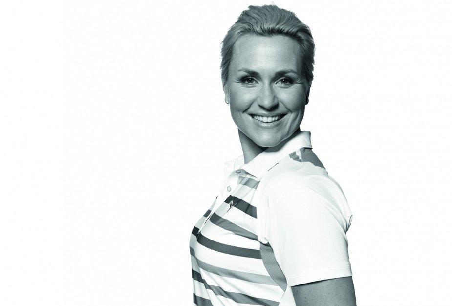 Martina Eberl, viermalige Siegerin auf der LET