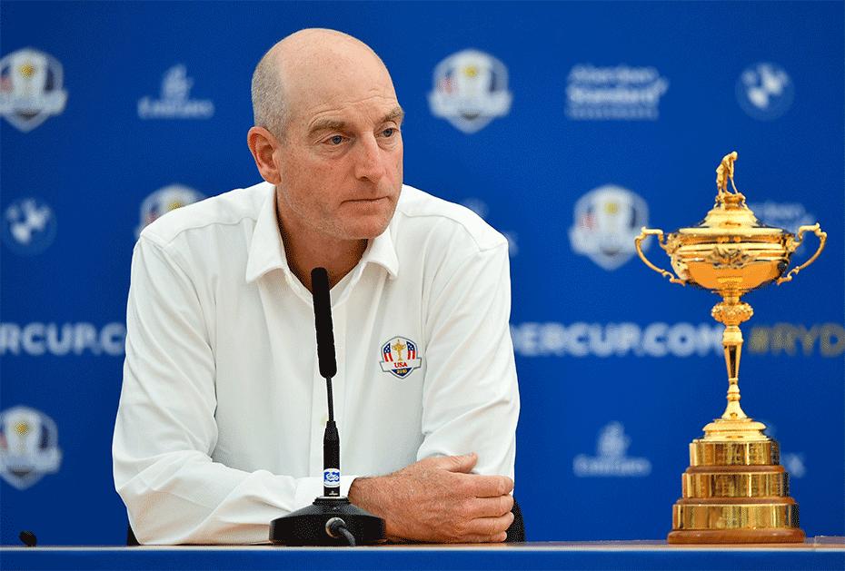 US-Kapitän Jim Furyk gibt der Presse überraschende Einblicke zum Ryder Cup in Paris