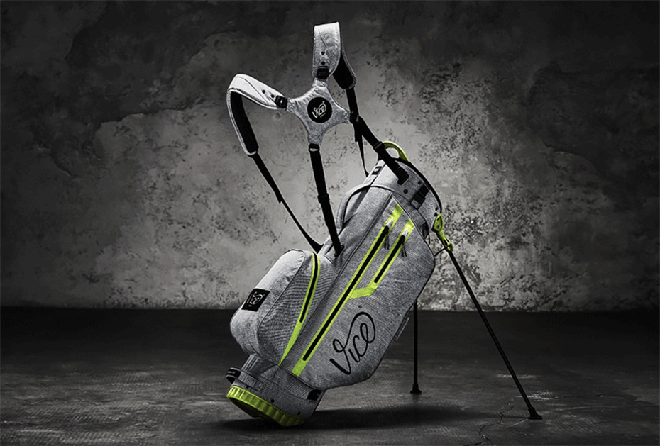 Das neue Vice FORCE Bag 2.0 in Gray Melange mit Neon Lime