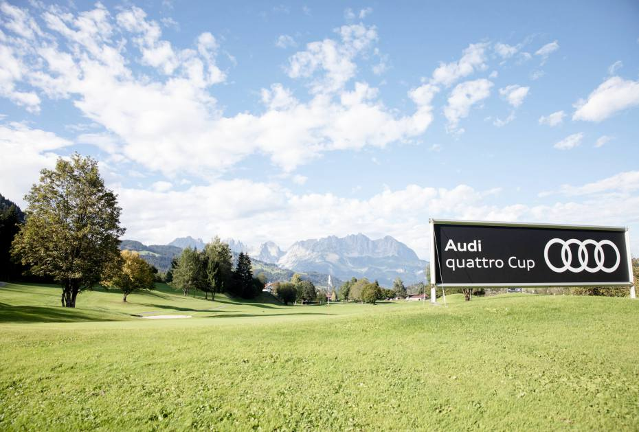 Weltfinale des Audi quattro Cup im Golfclub Kitzbühel Schwarzsee-Reith
