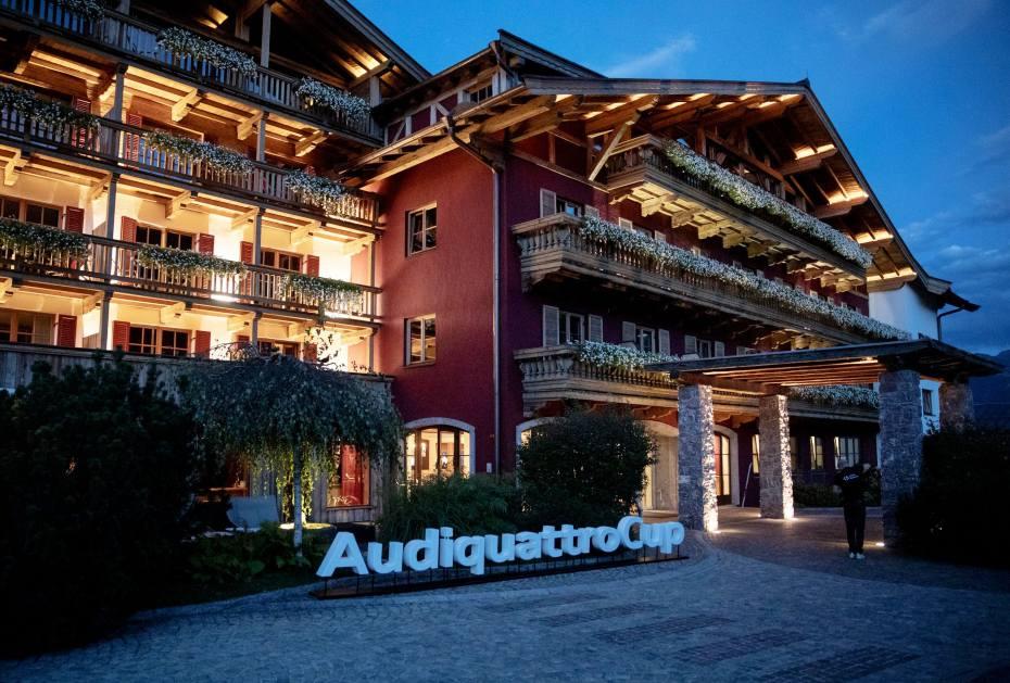 Das Hotel Kitzhof empfing die Gäste