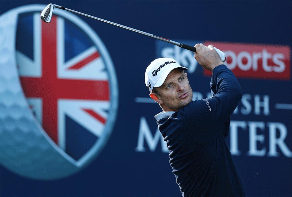 Justin Rose hat wie einige Ryder Cup Kollegen beim Sky Sports British Masters gemeldet