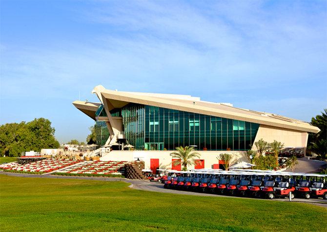 Der Abu Dhabi Golf Club: Veranstaltungsort des diesjährigen HSBC Championship (Foto: © istock.com/ChandraDhas)