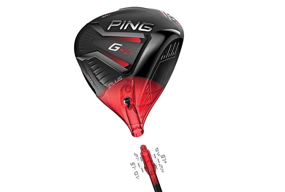 Driver der G410-Serie gibt es als Modell G410 Plus mit flexiblem Gewicht im Schlägerkopf mit den Positionen Draw, Neutral, Fade ...