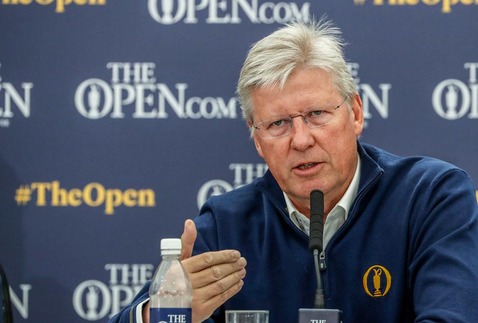 Höherer Aufwand als gedacht: R&A Chief Executive Martin Slumbers
