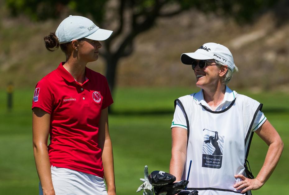 Esther Henseleit bei Investec SA Women's Open geteilte Dritte