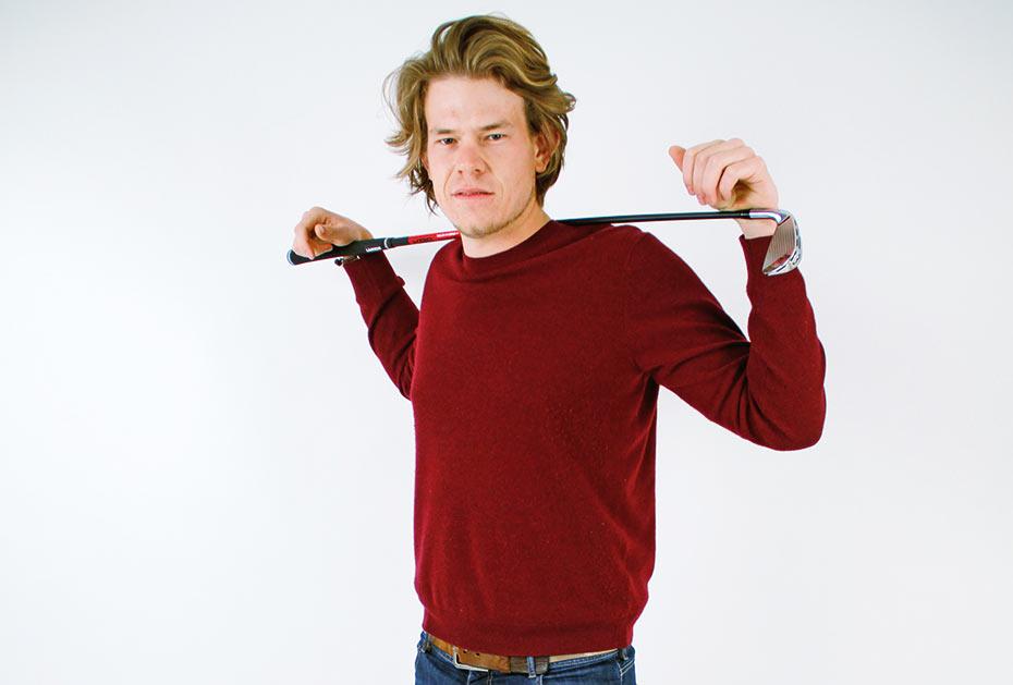 Aaron Leitmannstetter, Jahrgang 1993, aus Maitenbeth, Bayern, will den Durchbruch bei den Profis schaffen