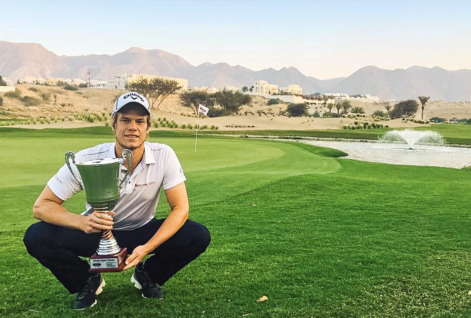 Sein erster Profi-Titel gelang ihm bei der Ghala Open 2016