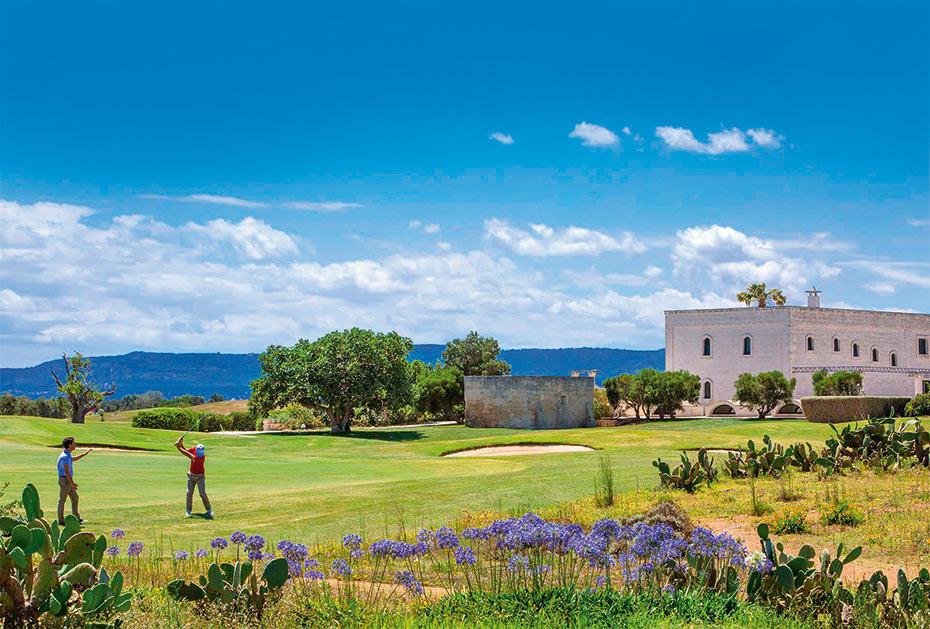 Das Borgo Egnazia-Resort mit 18 Loch Championship-Course