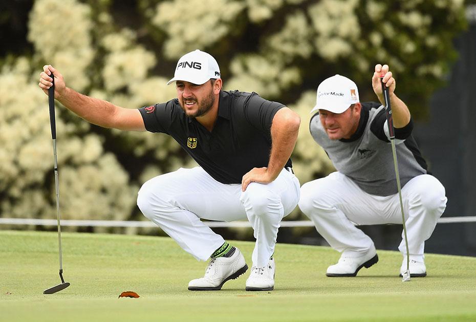 Heimat statt PGA Tour: Stephan Jäger und Alex Cejka