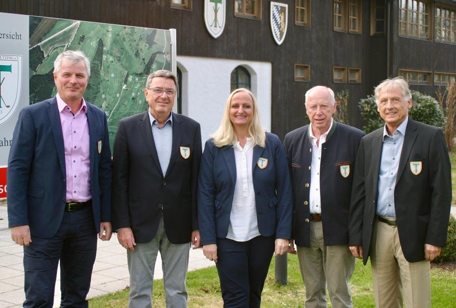 Stephan Fuchs, Horst Kollmeier, Katharina Riegel, Friedrich Schörner, Rolf Wiechmann (v. l.)