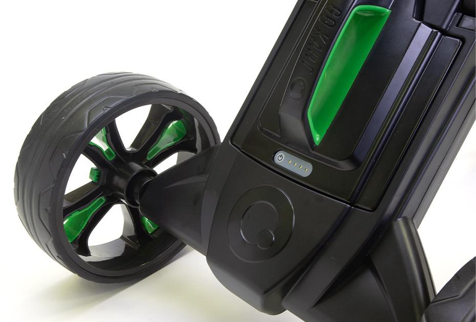 Verbesserte Akkuhalterung: GoKart MK2 Elektro-Trolley
