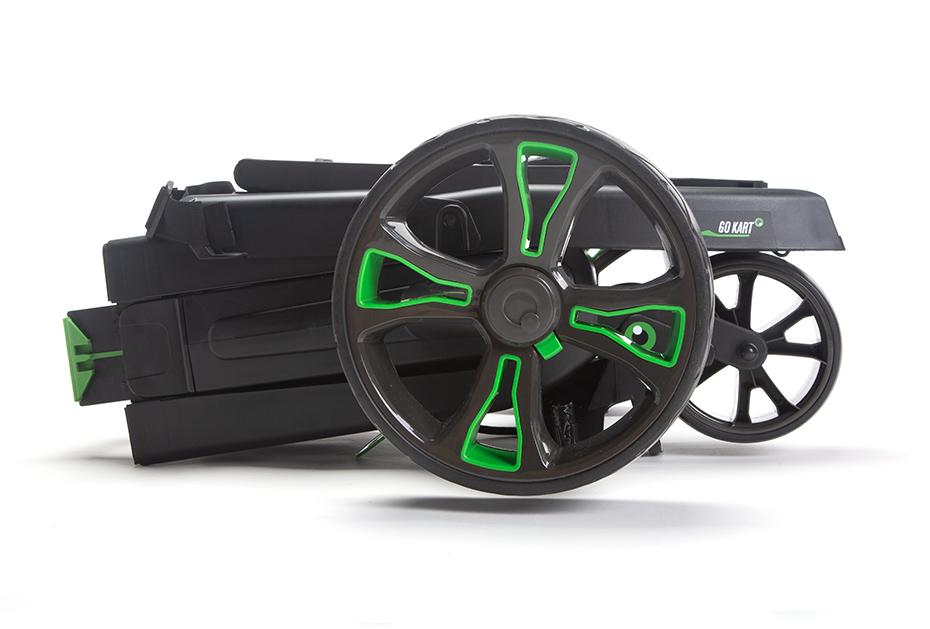 Kompaktes Faltmaß: GoKart MK2 Elektro-Trolley