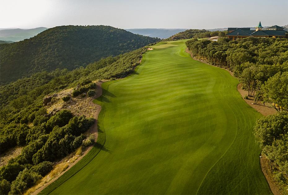 Par-72-Platz des Le Michlifen Golf & Country