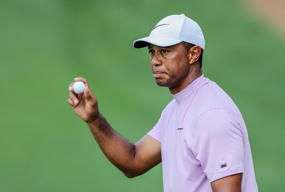 Major-Titel Nummer 15 im Blick: Tiger Woods