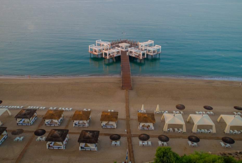 Hotspot im Sommer: Die Beach Bar im Sirene