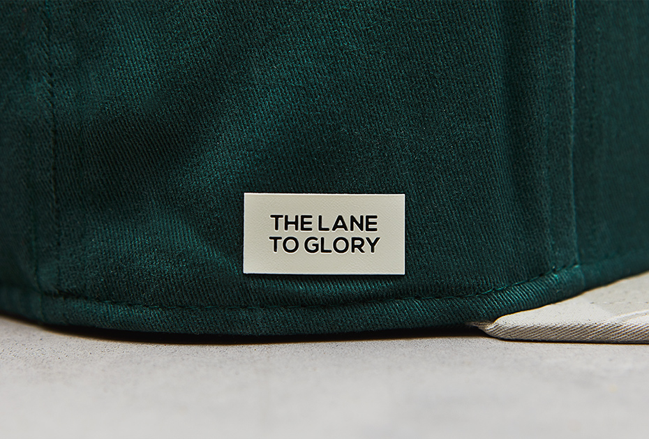The Lane to Glory: das Rubber-Patch auf den Local Legend Caps