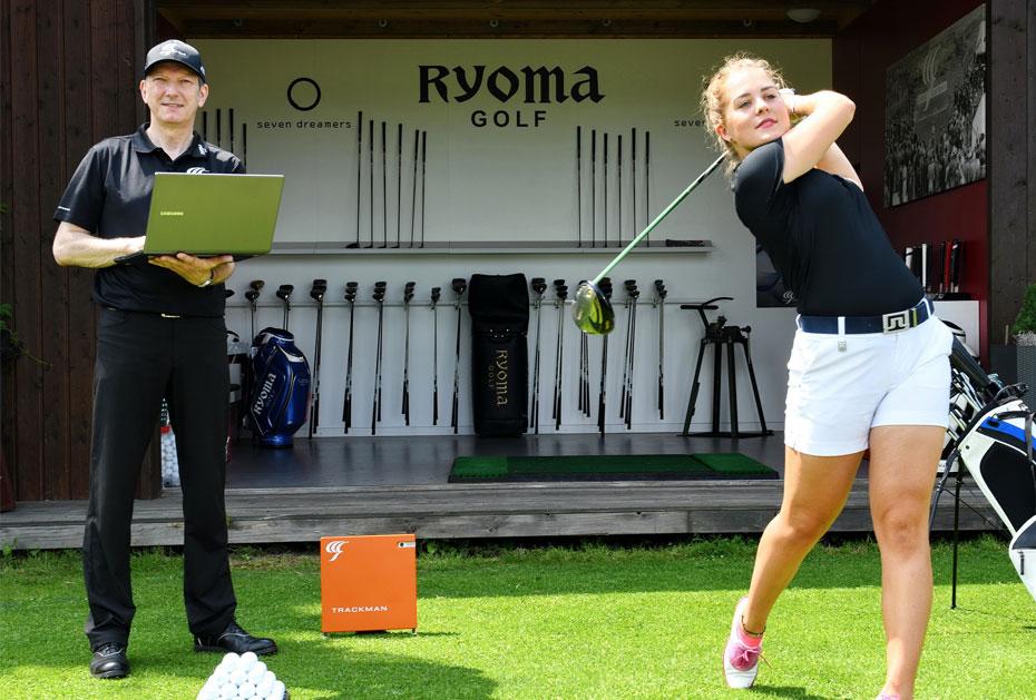 Von Japan nach Deutschland: Dietmar Erhardt fittet auch Schläger von Ryoma Golf