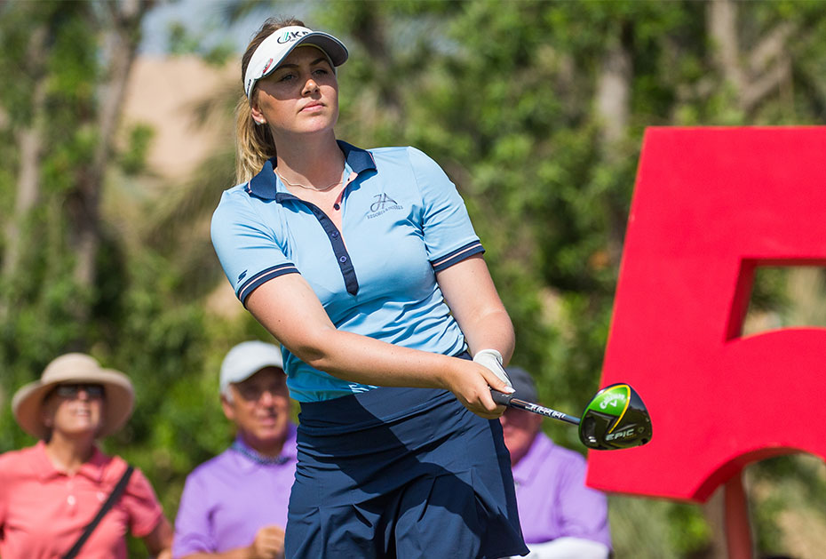 Olivia Cowan wird starke Zweite in Dubai