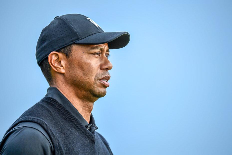 Spielpraxis vor dem U.S. Open: Tiger Woods