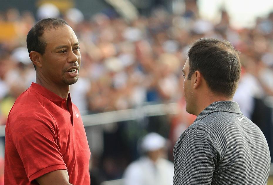 Tiger Woods und Francesco Molinari treffen bei der PGA Championship aufeinander