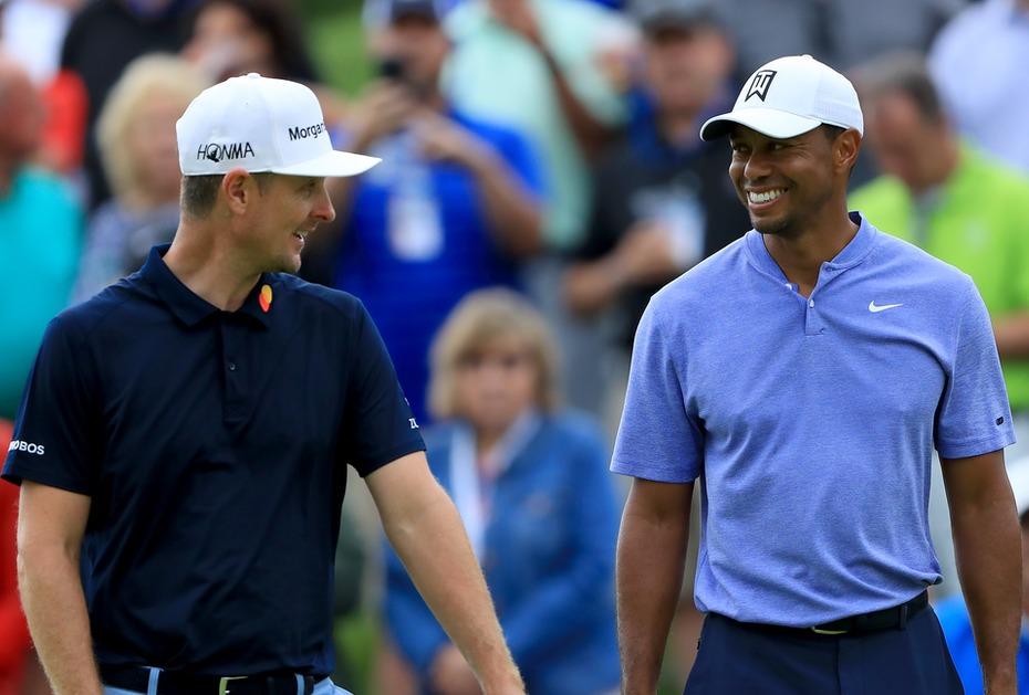 Tiger Woods und Justin Rose haben schon beim Memorial zusammen gespielt