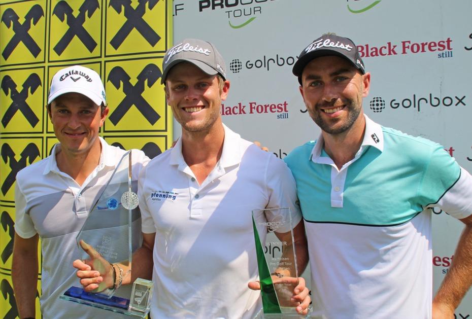 Der Süßeste aller Siege: Hurly Long gewinnt ersten Titel auf der Pro Golf Tour