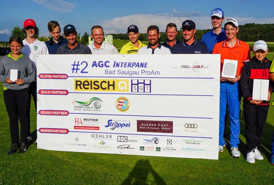 Jede Menge glückliche Gesichter beim 2. AGC Interpane ProAm in Bad Saulgau
