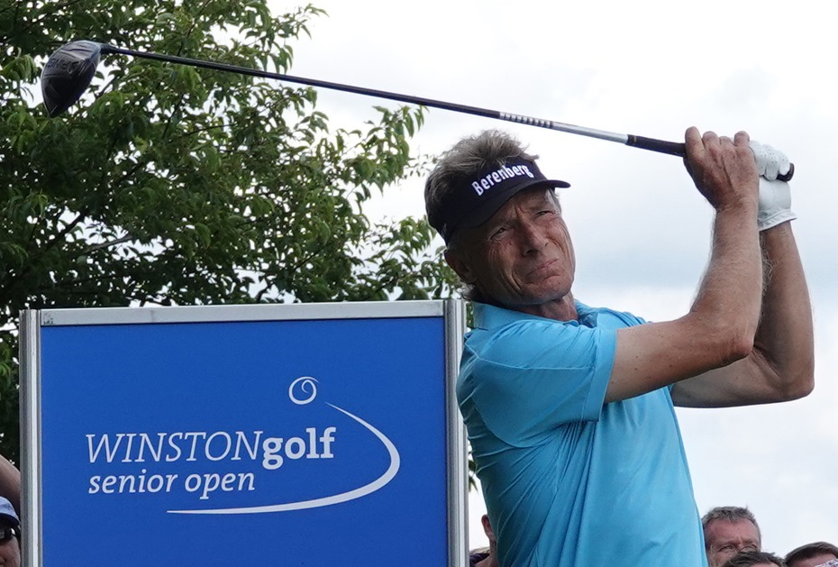 Heimspiel: Bernhard Langer landet bei WINSTONgolf Senior Open auf Rang 4