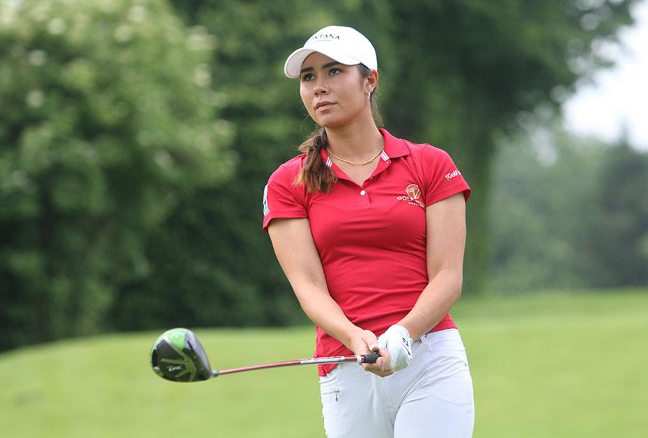 Freut sich auf das Heimspiel: Sarina Schmidt vom GC Valley