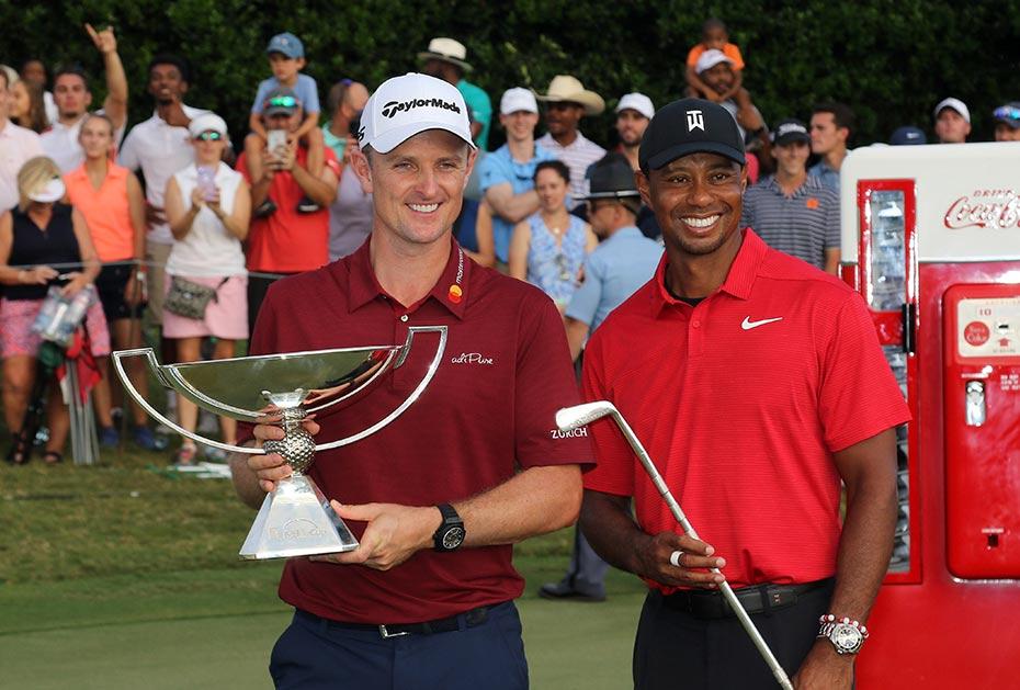 In diesem Jahr nicht mehr möglich: Zwei Sieger bei der Tour Championship